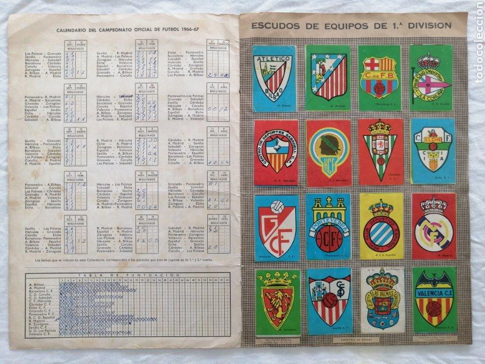 """Álbum de fútbol completo: ÁLBUM """"CAMPEONATO DE LIGA 1966/67"""" - Foto 2 - 222015546"""