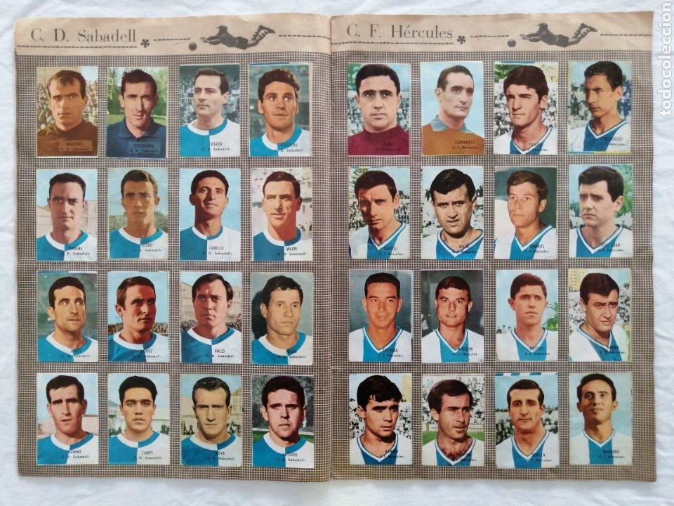 """Álbum de fútbol completo: ÁLBUM """"CAMPEONATO DE LIGA 1966/67"""" - Foto 5 - 222015546"""