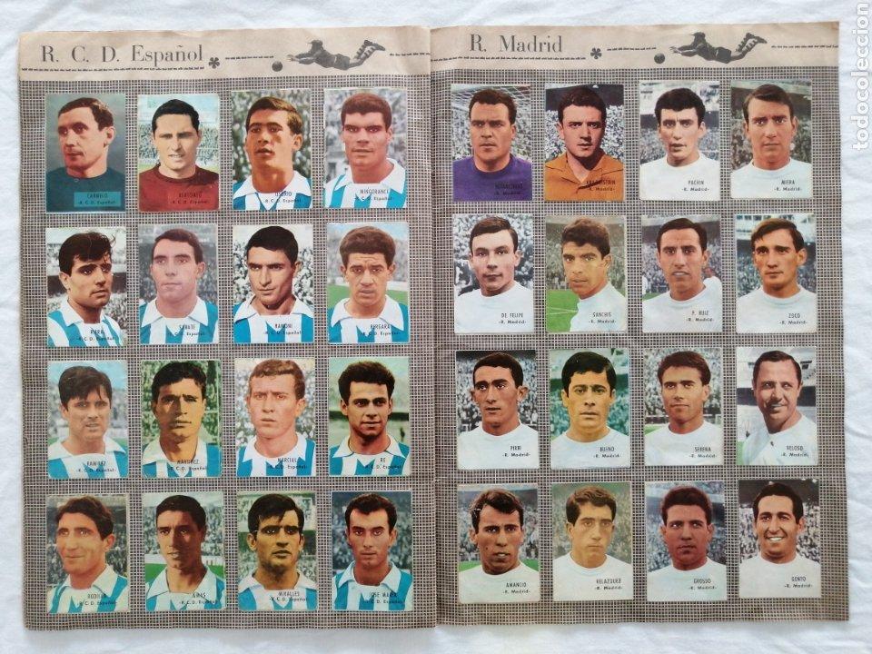 """Álbum de fútbol completo: ÁLBUM """"CAMPEONATO DE LIGA 1966/67"""" - Foto 8 - 222015546"""