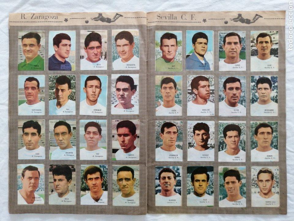 """Álbum de fútbol completo: ÁLBUM """"CAMPEONATO DE LIGA 1966/67"""" - Foto 9 - 222015546"""