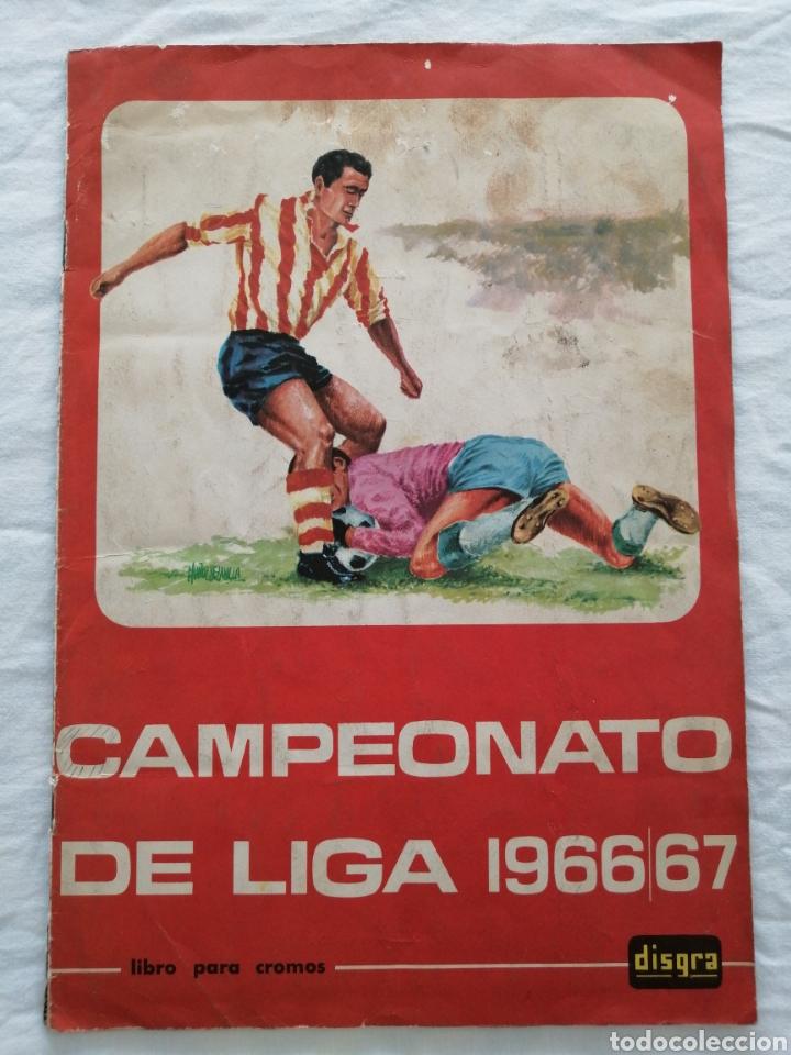 """ÁLBUM """"CAMPEONATO DE LIGA 1966/67"""" (Coleccionismo Deportivo - Álbumes y Cromos de Deportes - Álbumes de Fútbol Completos)"""