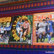 Álbum de fútbol completo: LIGA ESTE 10 11 2010 2011 COMPLETO, 2001 2002 01 02 COMPLETO A FALTA DE FICHAJES. REGALO 2002 2003.. Lote 222025728