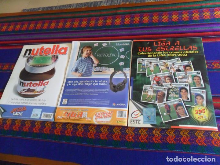 Álbum de fútbol completo: LIGA ESTE 10 11 2010 2011 COMPLETO, 2001 2002 01 02 COMPLETO A FALTA DE FICHAJES. REGALO 2002 2003. - Foto 29 - 222025728