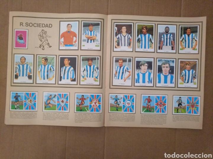 Álbum de fútbol completo: R. ROMERO 1972/73 ALBUM COMPLETO CON CUATRO CROMOS DOBLES Y UN TRIPLE,MUY BUENO. - Foto 14 - 222035031
