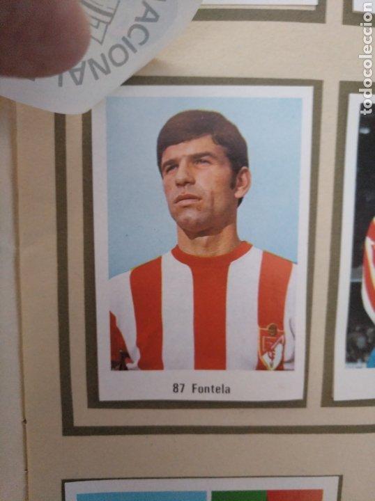 Álbum de fútbol completo: R. ROMERO 1972/73 ALBUM COMPLETO CON CUATRO CROMOS DOBLES Y UN TRIPLE,MUY BUENO. - Foto 12 - 222035031