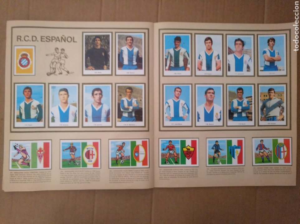 Álbum de fútbol completo: R. ROMERO 1972/73 ALBUM COMPLETO CON CUATRO CROMOS DOBLES Y UN TRIPLE,MUY BUENO. - Foto 23 - 222035031
