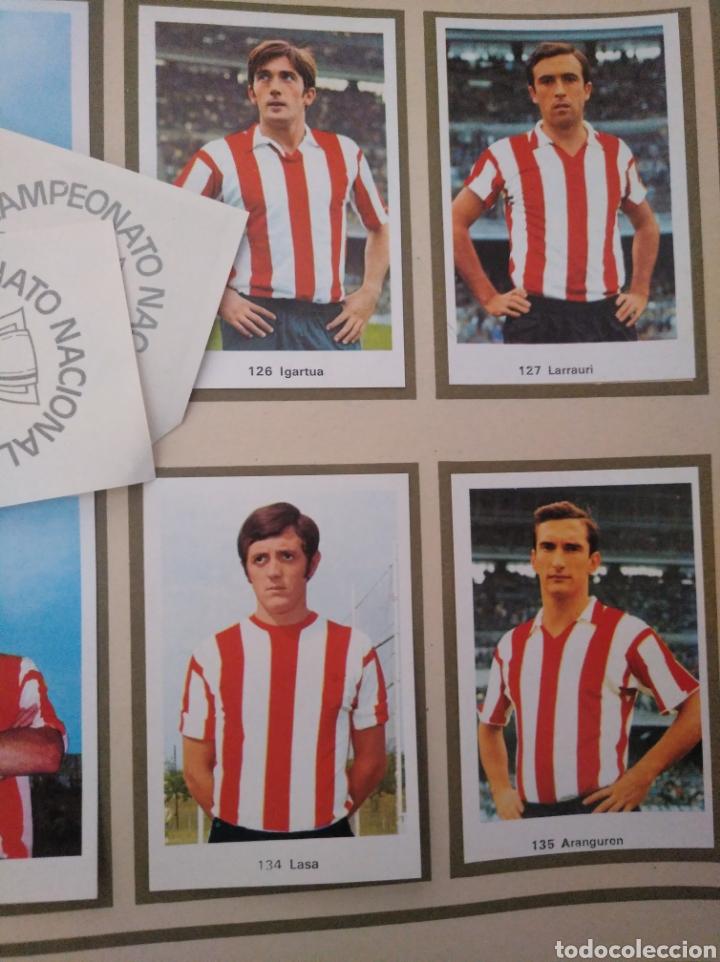 Álbum de fútbol completo: R. ROMERO 1972/73 ALBUM COMPLETO CON CUATRO CROMOS DOBLES Y UN TRIPLE,MUY BUENO. - Foto 18 - 222035031