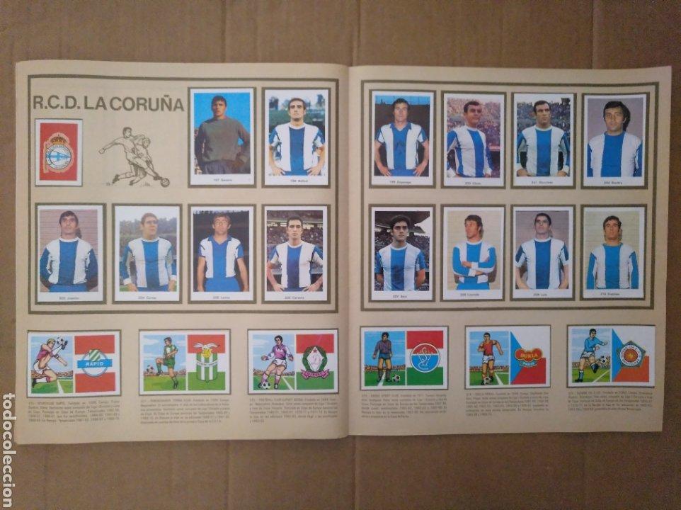 Álbum de fútbol completo: R. ROMERO 1972/73 ALBUM COMPLETO CON CUATRO CROMOS DOBLES Y UN TRIPLE,MUY BUENO. - Foto 25 - 222035031
