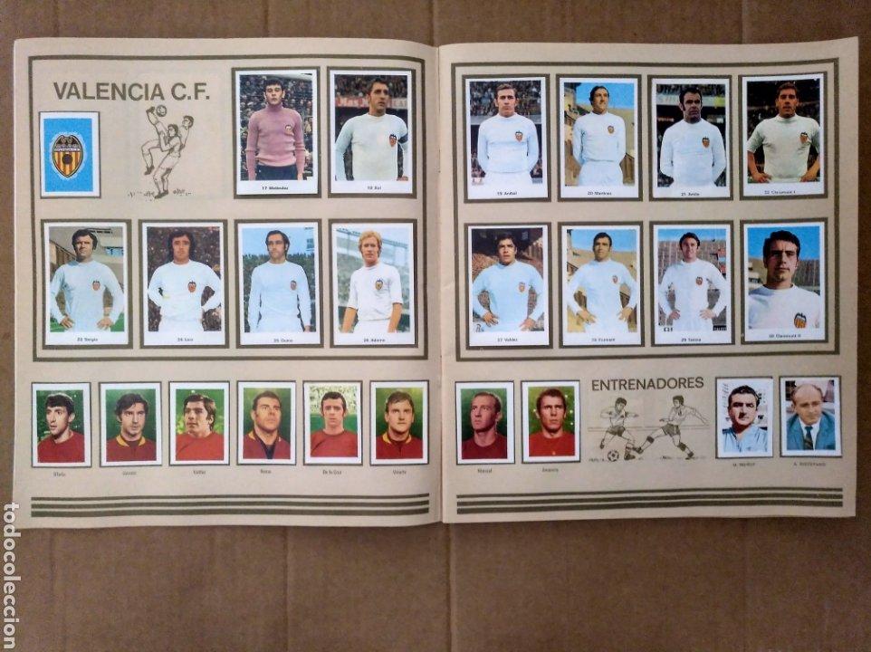 Álbum de fútbol completo: R. ROMERO 1972/73 ALBUM COMPLETO CON CUATRO CROMOS DOBLES Y UN TRIPLE,MUY BUENO. - Foto 4 - 222035031
