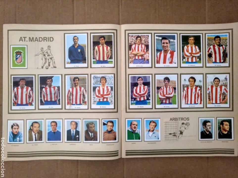 Álbum de fútbol completo: R. ROMERO 1972/73 ALBUM COMPLETO CON CUATRO CROMOS DOBLES Y UN TRIPLE,MUY BUENO. - Foto 6 - 222035031