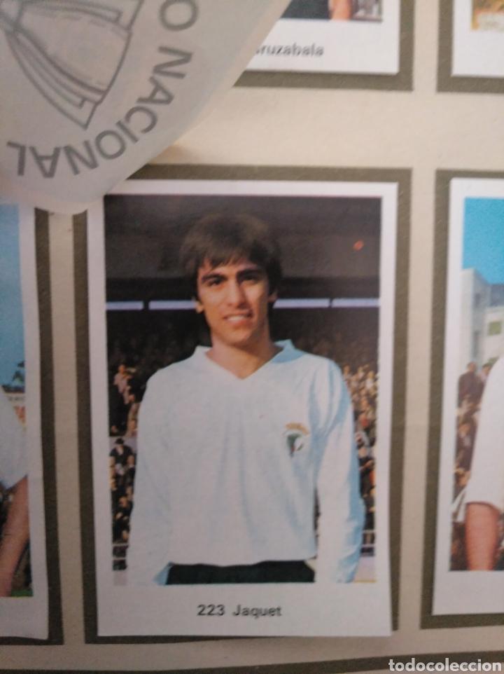 Álbum de fútbol completo: R. ROMERO 1972/73 ALBUM COMPLETO CON CUATRO CROMOS DOBLES Y UN TRIPLE,MUY BUENO. - Foto 30 - 222035031