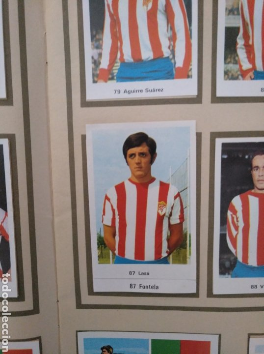 Álbum de fútbol completo: R. ROMERO 1972/73 ALBUM COMPLETO CON CUATRO CROMOS DOBLES Y UN TRIPLE,MUY BUENO. - Foto 11 - 222035031
