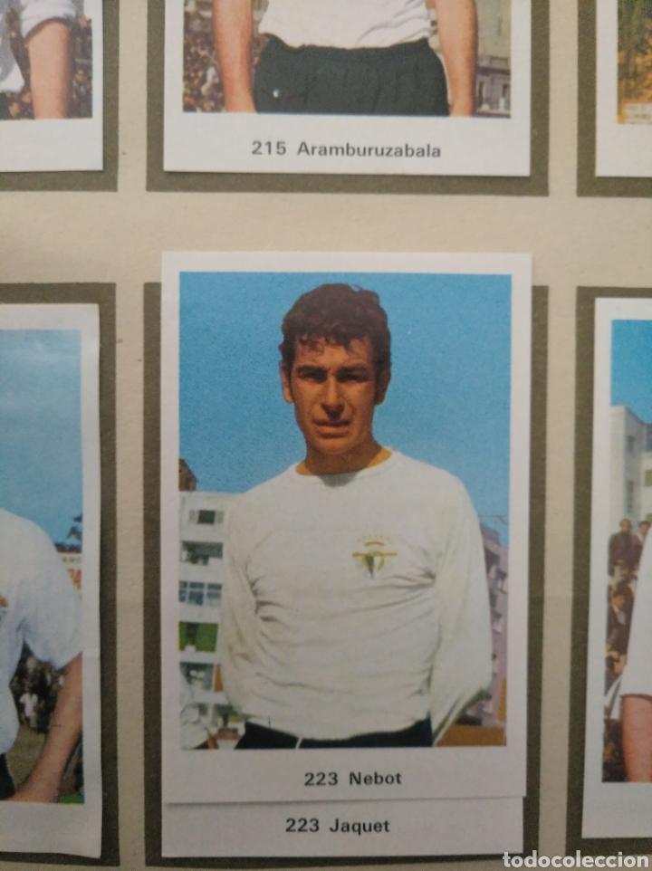 Álbum de fútbol completo: R. ROMERO 1972/73 ALBUM COMPLETO CON CUATRO CROMOS DOBLES Y UN TRIPLE,MUY BUENO. - Foto 29 - 222035031