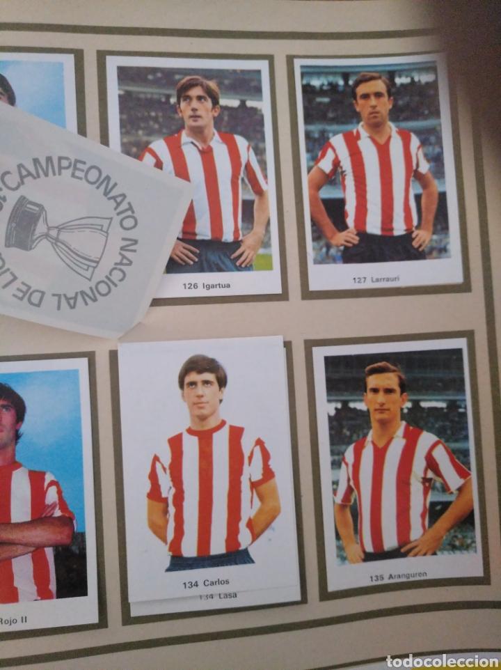 Álbum de fútbol completo: R. ROMERO 1972/73 ALBUM COMPLETO CON CUATRO CROMOS DOBLES Y UN TRIPLE,MUY BUENO. - Foto 17 - 222035031
