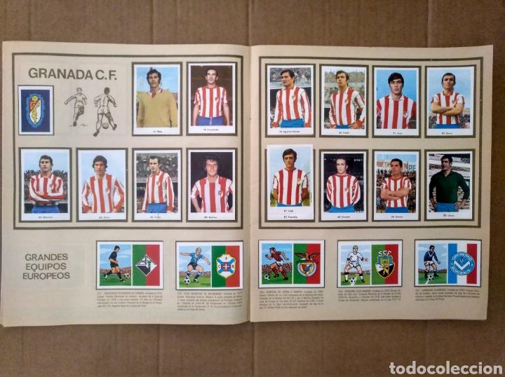 Álbum de fútbol completo: R. ROMERO 1972/73 ALBUM COMPLETO CON CUATRO CROMOS DOBLES Y UN TRIPLE,MUY BUENO. - Foto 10 - 222035031