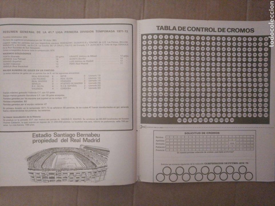 Álbum de fútbol completo: R. ROMERO 1972/73 ALBUM COMPLETO CON CUATRO CROMOS DOBLES Y UN TRIPLE,MUY BUENO. - Foto 34 - 222035031