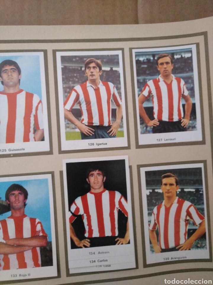 Álbum de fútbol completo: R. ROMERO 1972/73 ALBUM COMPLETO CON CUATRO CROMOS DOBLES Y UN TRIPLE,MUY BUENO. - Foto 16 - 222035031