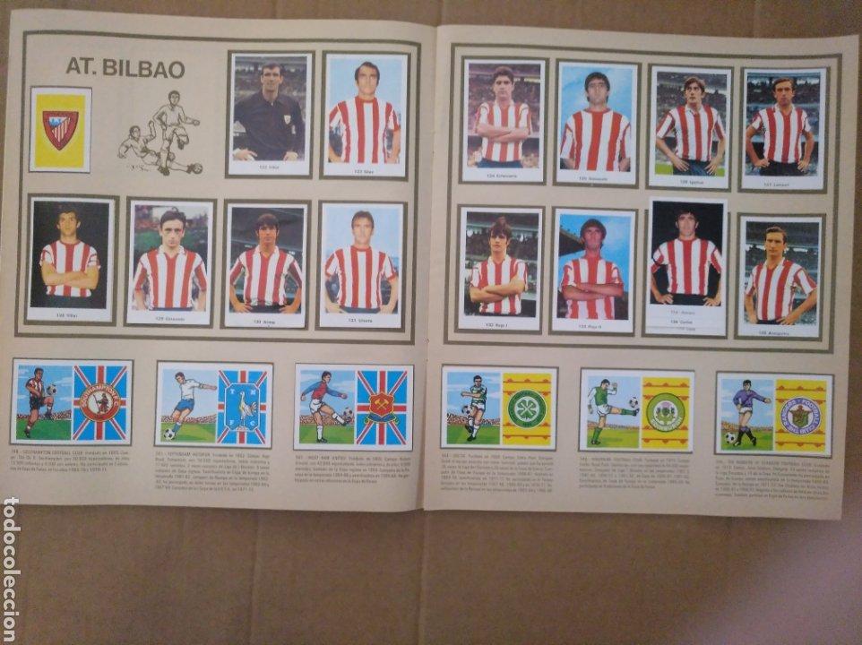 Álbum de fútbol completo: R. ROMERO 1972/73 ALBUM COMPLETO CON CUATRO CROMOS DOBLES Y UN TRIPLE,MUY BUENO. - Foto 15 - 222035031