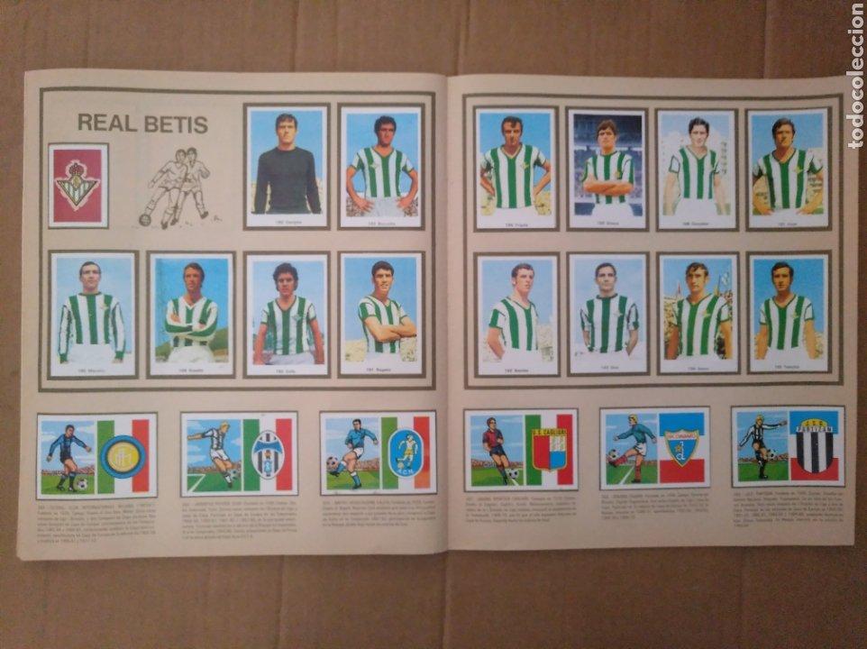 Álbum de fútbol completo: R. ROMERO 1972/73 ALBUM COMPLETO CON CUATRO CROMOS DOBLES Y UN TRIPLE,MUY BUENO. - Foto 24 - 222035031
