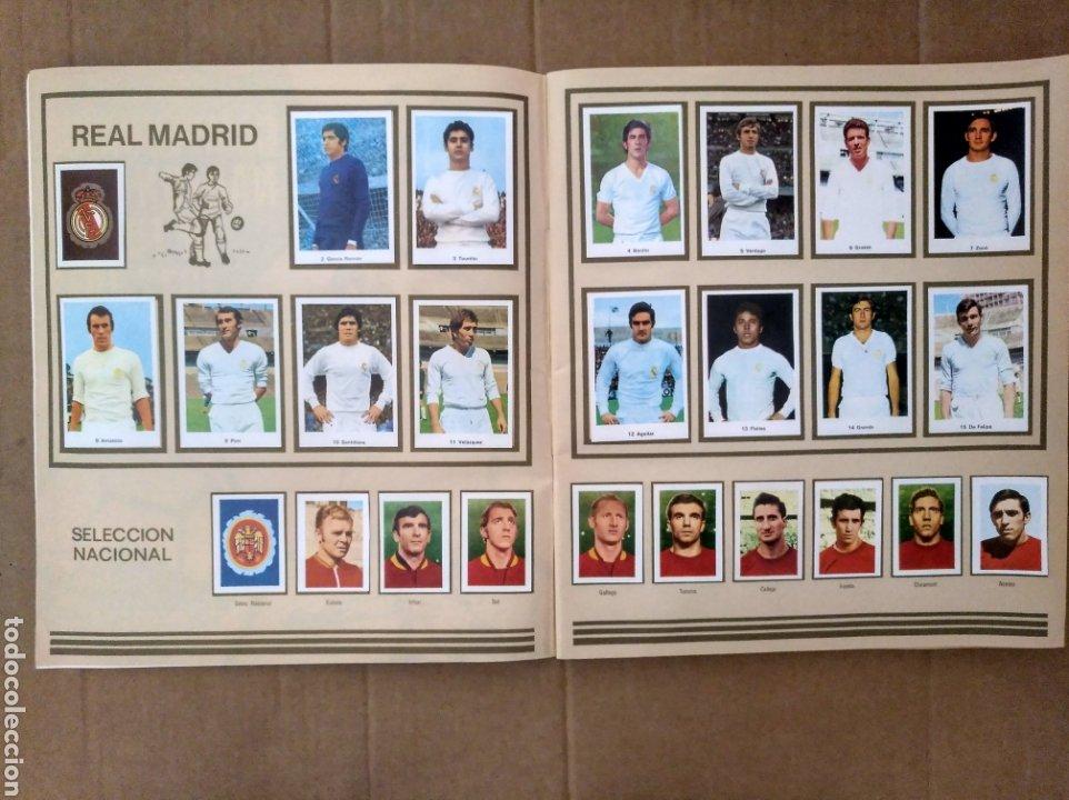 Álbum de fútbol completo: R. ROMERO 1972/73 ALBUM COMPLETO CON CUATRO CROMOS DOBLES Y UN TRIPLE,MUY BUENO. - Foto 3 - 222035031