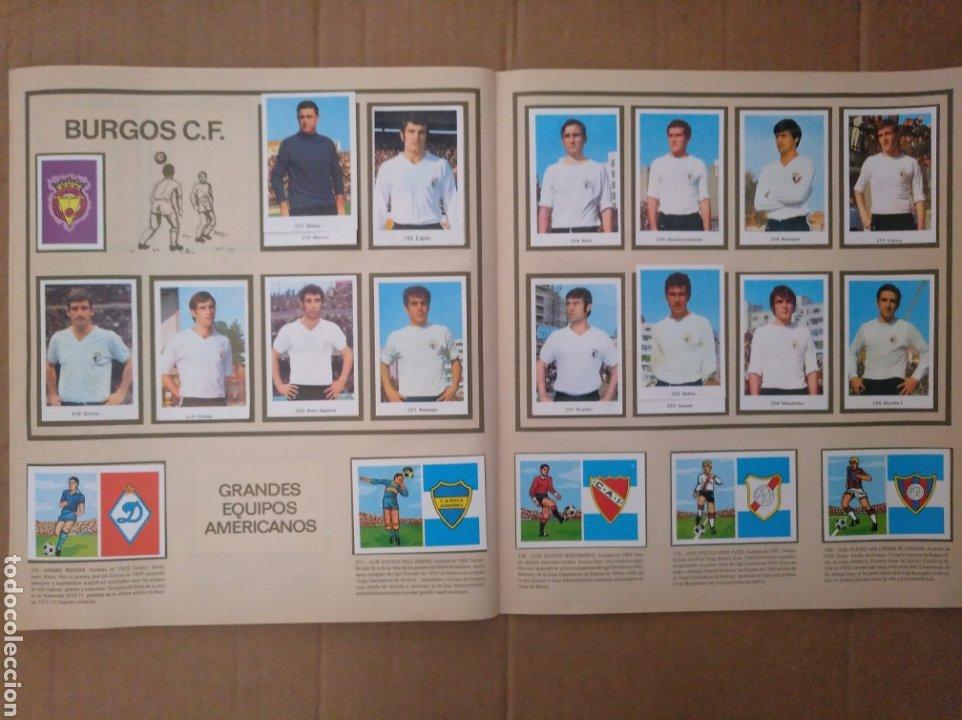 Álbum de fútbol completo: R. ROMERO 1972/73 ALBUM COMPLETO CON CUATRO CROMOS DOBLES Y UN TRIPLE,MUY BUENO. - Foto 26 - 222035031