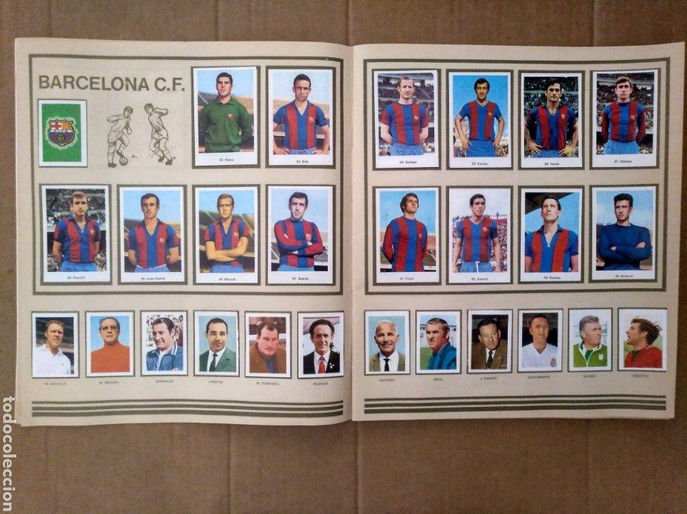 Álbum de fútbol completo: R. ROMERO 1972/73 ALBUM COMPLETO CON CUATRO CROMOS DOBLES Y UN TRIPLE,MUY BUENO. - Foto 5 - 222035031