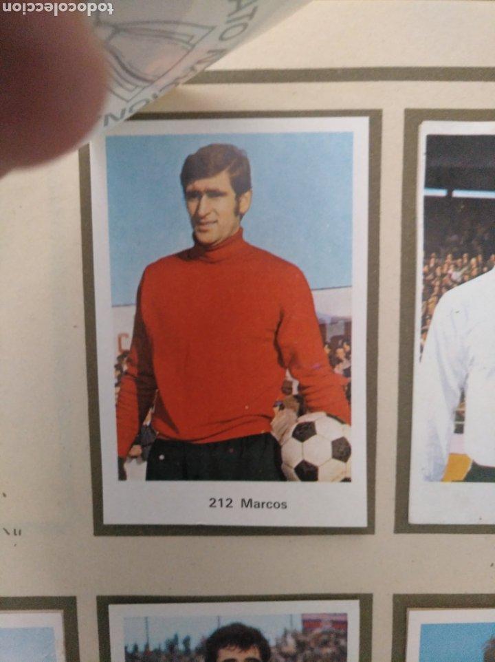 Álbum de fútbol completo: R. ROMERO 1972/73 ALBUM COMPLETO CON CUATRO CROMOS DOBLES Y UN TRIPLE,MUY BUENO. - Foto 28 - 222035031