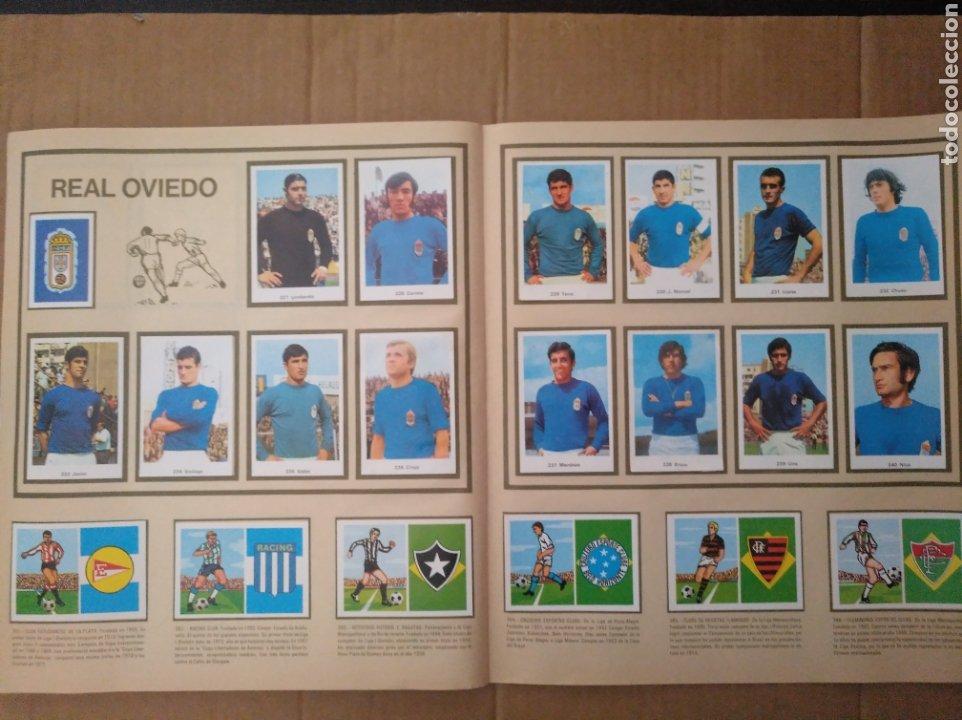 Álbum de fútbol completo: R. ROMERO 1972/73 ALBUM COMPLETO CON CUATRO CROMOS DOBLES Y UN TRIPLE,MUY BUENO. - Foto 31 - 222035031