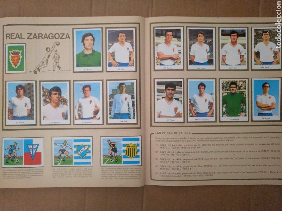 Álbum de fútbol completo: R. ROMERO 1972/73 ALBUM COMPLETO CON CUATRO CROMOS DOBLES Y UN TRIPLE,MUY BUENO. - Foto 33 - 222035031