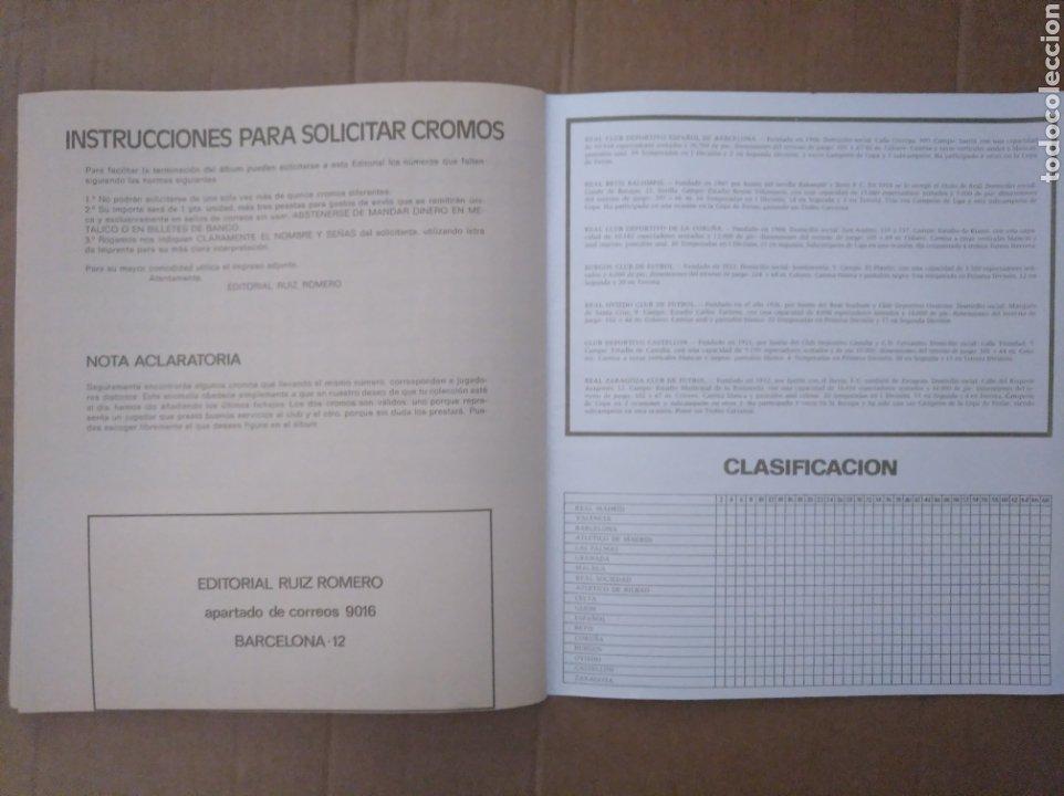 Álbum de fútbol completo: R. ROMERO 1972/73 ALBUM COMPLETO CON CUATRO CROMOS DOBLES Y UN TRIPLE,MUY BUENO. - Foto 35 - 222035031