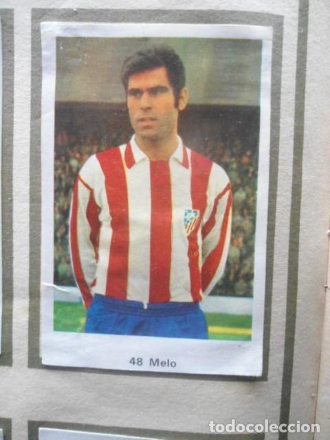 Álbum de fútbol completo: R. ROMERO 1972/73 ALBUM COMPLETO CON CUATRO CROMOS DOBLES Y UN TRIPLE,MUY BUENO. - Foto 7 - 222035031