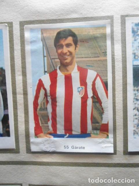 Álbum de fútbol completo: R. ROMERO 1972/73 ALBUM COMPLETO CON CUATRO CROMOS DOBLES Y UN TRIPLE,MUY BUENO. - Foto 8 - 222035031