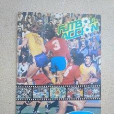 Álbum de fútbol completo: ALBUM DE CROMOS DE FUTBOL DANONE 82 COMPLETO. Lote 222134486