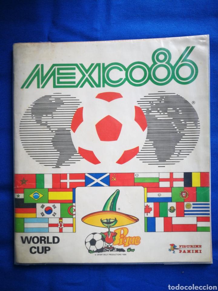 ÁLBUM DE CROMOS PANINI FUTBOL MÉXICO 1986 COMPLETO. (Coleccionismo Deportivo - Álbumes y Cromos de Deportes - Álbumes de Fútbol Completos)