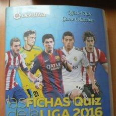 Álbum de fútbol completo: MUNDICROMO 2015 2016 15 16 - COLECCION COMPLETA PRIMERA DIVISIÓN ARCHIVADOR DE PLÁSTICO. Lote 53899555