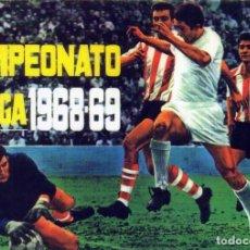 Álbum de fútbol completo: ALBUM FUTBOL FACSIMIL 1968-69 DISGRA,NUEVO Y COMPLETO(LEER DESCRIPCION). Lote 222293206