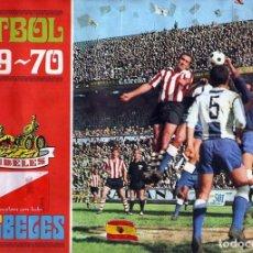 Álbum de fútbol completo: ALBUM FUTBOL FACSIMIL 69-70 LA CIBELES,NUEVO Y COMPLETO(LEER DESCRIPCION). Lote 222293792