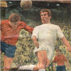 Álbum de fútbol completo: ALBUM CROMOS FACSIMIL FUTBOL1968 1969 68 69 FHER NUEVO COMPLETO. Lote 222294035