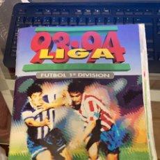 Álbum de fútbol completo: LIGA 93 94 ESTE LLENO CON MUCHOS DOBLES TODOS ULTIMOS FICHAJES Y ALGUN COLOCA DIFICIL MARINA ECT. Lote 222296052