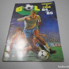 Álbum de fútbol completo: OCASION ALBUM PLANCHA VACIO EDITORIAL MAGA LIGA 84 85 VER FOTOS 100% ORIGINAL. Lote 222354522