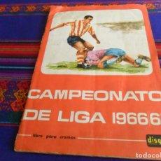 Álbum de fútbol completo: CAMPEONATO DE LIGA 1966 1967 66 67 COMPLETO FHER DISGRA. BUEN ESTADO Y DIFÍCIL.. Lote 222357758