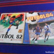 Álbum de fútbol completo: FUTBOL 84 1983 1984 COMPLETO. PANINI. REGALO FUTBOL 82 1981 1982 INCOMPLETO. BUEN ESTADO Y RARO.. Lote 222358703