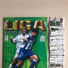 Álbum de fútbol completo: ALBUM LIGA ESTE FUTBOL 04-05 SUPER COMPLETO 2004-2005 CON 109 DOBLES SUELTOS NO ESTA MESSI. Lote 222426890