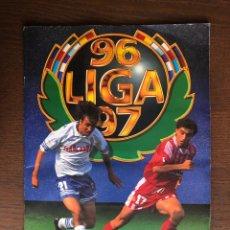 Album de football complet: ALBUM FÚTBOL LIGA ESTE 1996-1997 MUY COMPLETO 96-97 CON 548 CROMOS. Lote 222427617