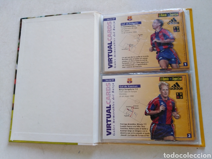 Álbum de fútbol completo: Victual cards, el mundo deportivo, F.C.Barcelona - Foto 4 - 222559358