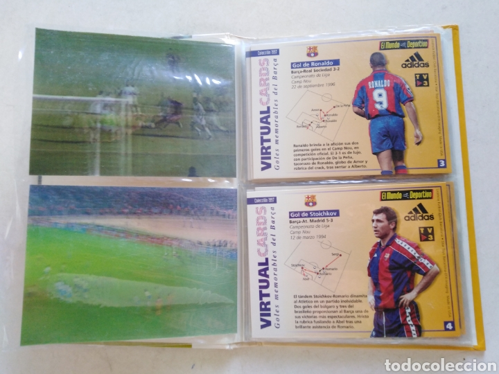 Álbum de fútbol completo: Victual cards, el mundo deportivo, F.C.Barcelona - Foto 5 - 222559358