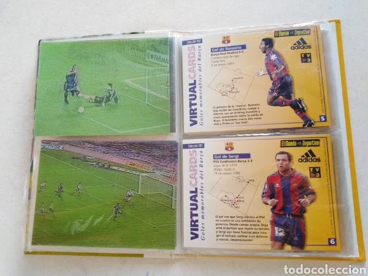 Álbum de fútbol completo: Victual cards, el mundo deportivo, F.C.Barcelona - Foto 6 - 222559358