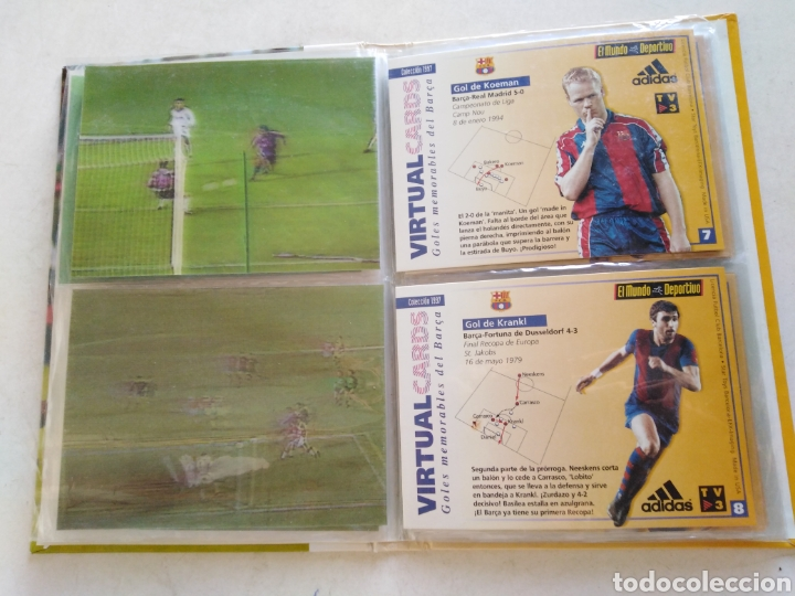 Álbum de fútbol completo: Victual cards, el mundo deportivo, F.C.Barcelona - Foto 7 - 222559358