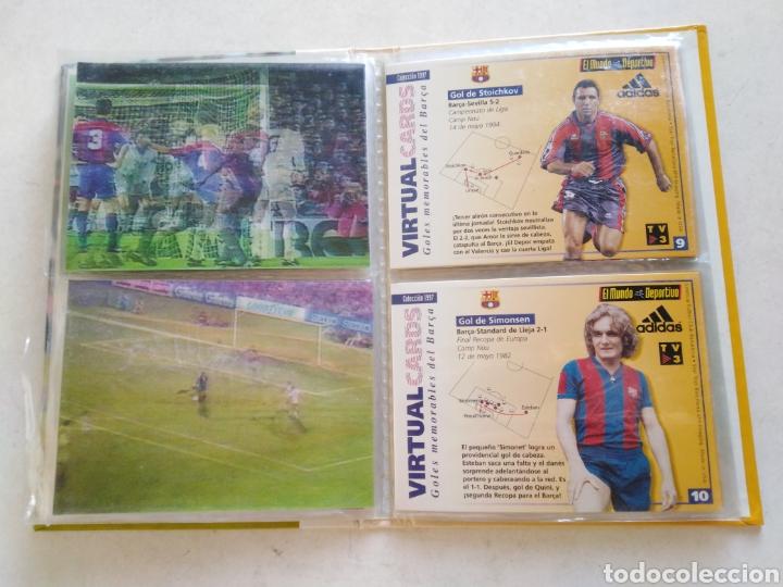 Álbum de fútbol completo: Victual cards, el mundo deportivo, F.C.Barcelona - Foto 8 - 222559358