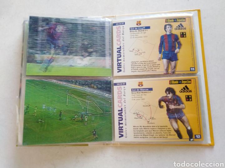 Álbum de fútbol completo: Victual cards, el mundo deportivo, F.C.Barcelona - Foto 9 - 222559358